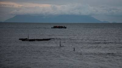 For Illustration only - Migrants in a boat in the Mediterranean Sea/Credit: giannis/AdobeStock
