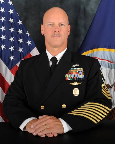 Force Master Chief David B. Carter (Photo: U.S. Navy)