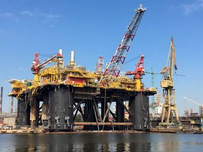 FPF-1 floating production facility has completed the required inclination test Photo