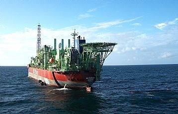 FPSO BW Pioneer: Photo credit Petrobas