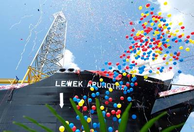 FPSO Lewek Arunothai is the first FPSO Keppel Shipyard has completed for EOC.