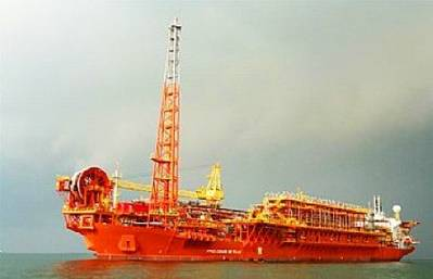 FPSO: Photo courtesy of Petrobras