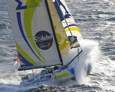 François Gabart (Macif): Photo credit Vendee Globe