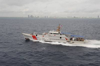 FRC 'Bernard C. Webber: Photo credit USCG