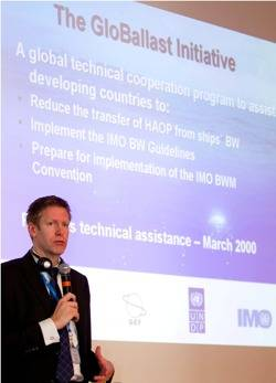 Frederick Haag, Chief Technical Advisor, Geo Ballast Partnerships Project
