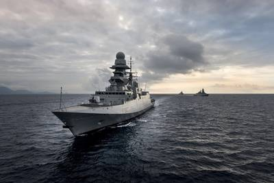 Frigate Photo courtesy Filippo Vinardi;  Fincantieri