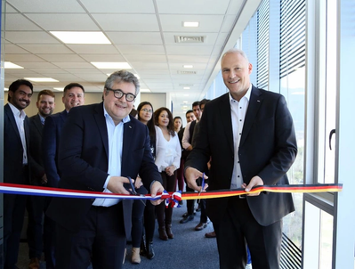 From left: Guido Gries, Managing Director DACHSER Americas and  Frank Habermann, Managing Director of DACHSER Chile (Photo: Dachser)