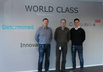 From left: Jon Olav Kopperstad - VP Offshore Supply & Subsea, Dagfinn Vattøy – Sales Manager, Leif Løken – Product Manager.