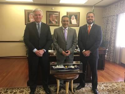 Saudi Consul General Meets Officials Of Bahri Houston