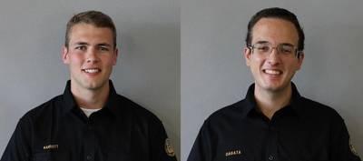 From left: Tristan Barnett and Jackson Dagata (Photo: Crowley)