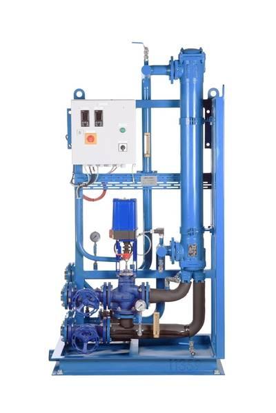 Fuel Cooler Unit: Image courtesy of Auramarine