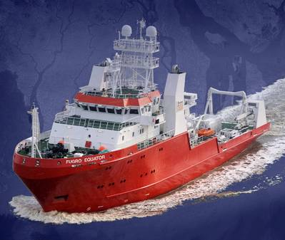 Fugro Equator: Image courtesy of Fugro