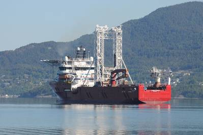 Fugro Synergy: Photo courtesy of Fugro