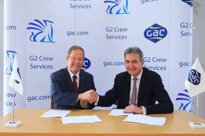 GAC – Griffin Sign J/V Agreement: Photo credit GAC