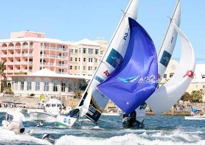 GAC Pindar World Match Racing Sailing Team: Photo credit Alpari World Match Racing Tour