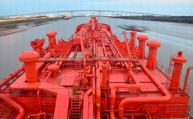 Gas carrier: Photo courtesy of Navigator Holdings