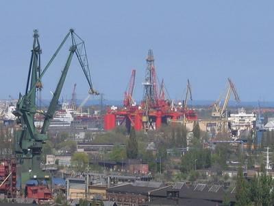 Gdansk Shipyard: Photo credit Wikimedia CCL 2