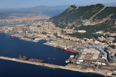Gibraltar location: Image Gibdock