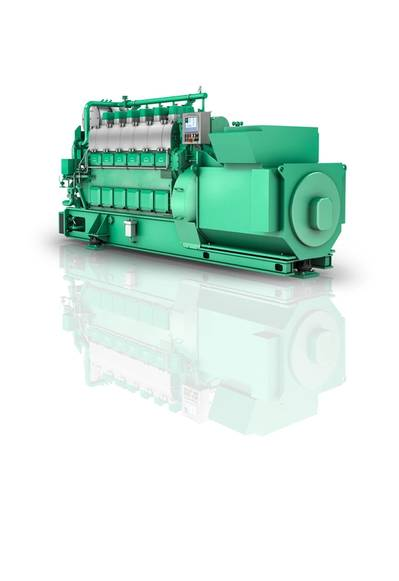 Graphical rendering of an MAN 6L23/30H Mk3 engine. Image courtesy MAN ES