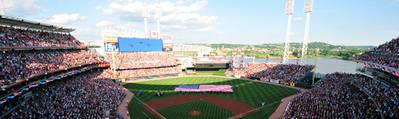 Great American Ball Park (Photo courtesy of the Cincinnati Reds)