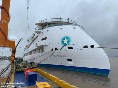 Greg Mortimer Cruise Ship - Image by Skye Marr Whelan - MarineTraffic