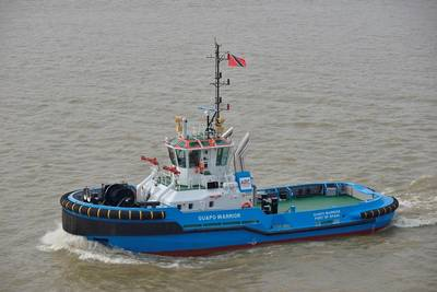 Guapo Warrior is the second of four Damen ASD Tugs 2810 for ARC Towage (Photo: Damen)
