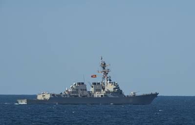 Guided-missile destroyer USS Winston S. Churchill (DDG 81). (Photo: John Philip Wagner, Jr. / US. Navy)