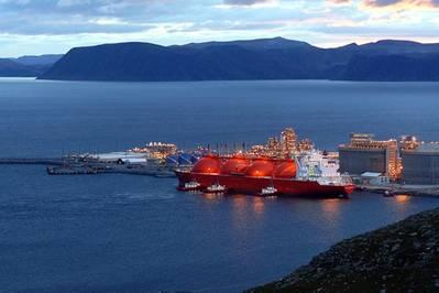 Hammerfest LNG Plant: Photo credit Statoil