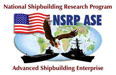 The National Shipbuilding Research Program logo.
