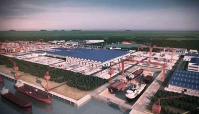 Rongsheng Shipyard: Rendering credit Rongsheng