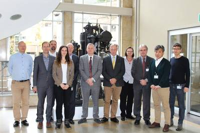 Shipdex Steering Committee Meeting taking place on November 9th, 2017 in WinGD's headquarters in Winterthur, Switzerland. Photo: Winterthur Gas & Diesel Ltd.