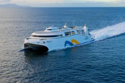 Hi-speed Ferry Francisco: Photo credit Wärtsilä