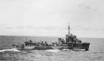 HMAS Vampire (© Commonwealth of Australia 2018)