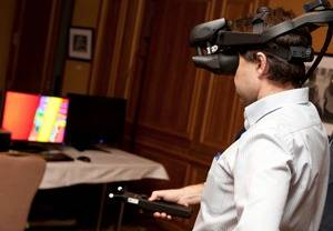 HMD VR for Shipbuilders: Photo credit SENER