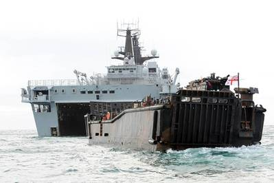HMS Bulwark: Photo credit MOD