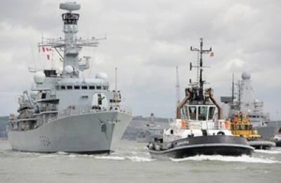 HMS Iron Duke: Photo courtesy of MOD