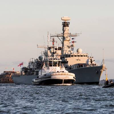 HMS Kent (Image: Royal Navy website)