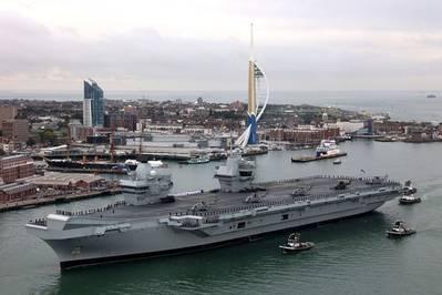 HMS Queen Elizabeth (Photo: UK Royal Navy)