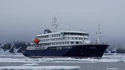 Hondius and sister vessel Janssonius are said to be the first vessels in the world to be built according to the LR PC6 class (Photo: Meike Sjoer)