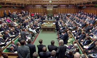 House of Commons Debate: Photo courtesy of Maritime London