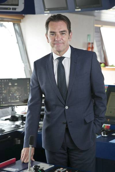 Howard Woodcock, chief executive of Bibby Offshore. (Photo: Bibby Offshore)