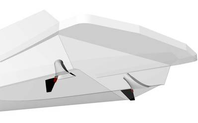 Humphree unveiled two more sizes of its fixed fin products.