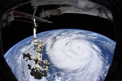 Hurricane Ida - Credit: Image credit: European Space Agency via NASA