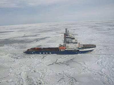 Icebreaker 'Fennica': Photo credit Wikimedia CCL
