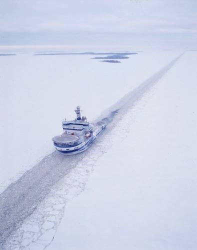 Icebreaker MSV Botnica: Photo credit Port of Tallinn