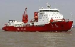 Icebreaker Xue Long: Photo credit Xinhua