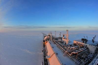 Icebreaking LNG carrier Christophe de Margerie (Photo: ABB)