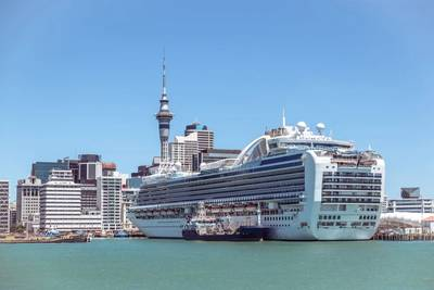 Illustration only; A cruise ship in Auckland/NZ - Credit: corners74 - AdobeStock