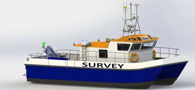 Illustration showing the Nordic Sonar which is currently under construction