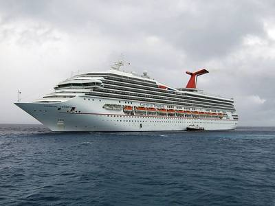 Image courtesy of Carnival Corp